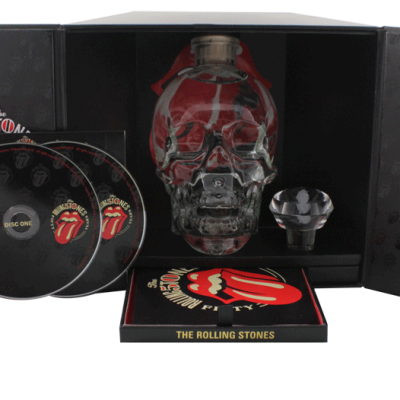 Crystal Head Rolling Stones 50 years Limited Edition